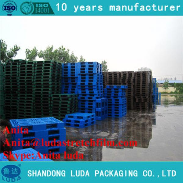 plastic pallet container disposable used standard euro plastic pallets size