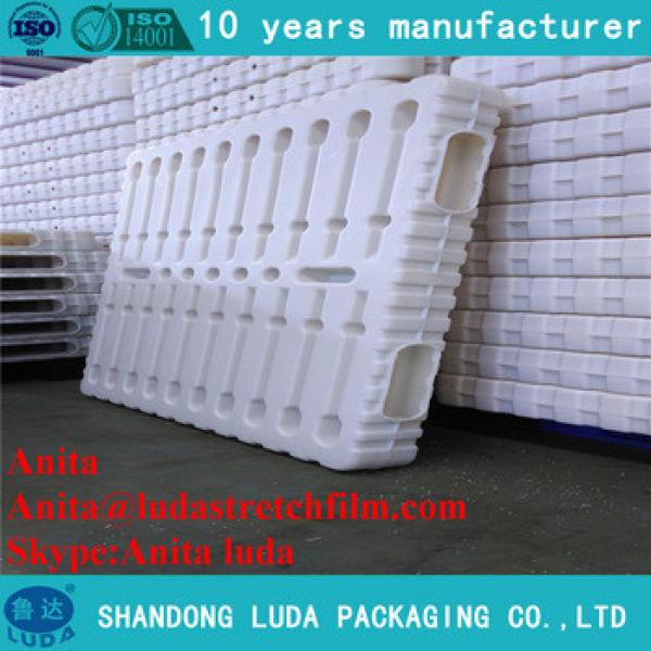 plastic pallet with wheels/glass blow molding machine