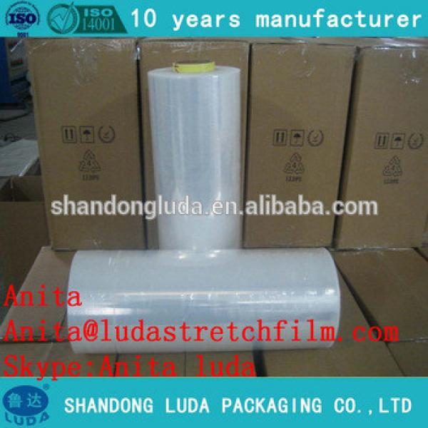23 Micron Industrial Clear LLDPE LDPE Pre Machine pallet stretch wrap