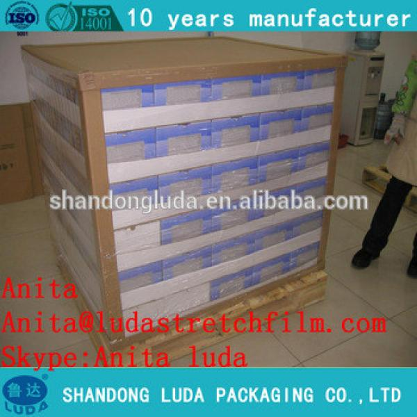 Factory for soft hardness 500mm pallet packing LLDPE pallet stretch film