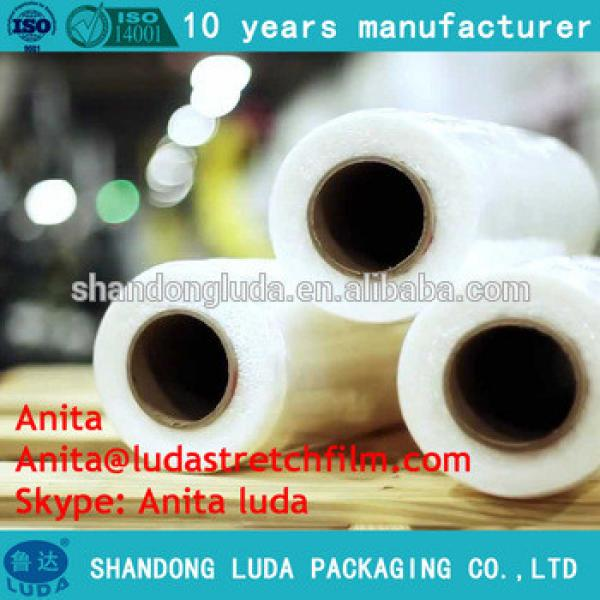 Clear plastic wrapping film/ Clear Stretch Film /Hand Use cling wrap Film