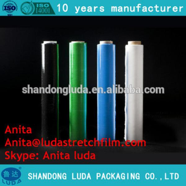 Transparent LLDPE pallet plastic cling wrap packing film