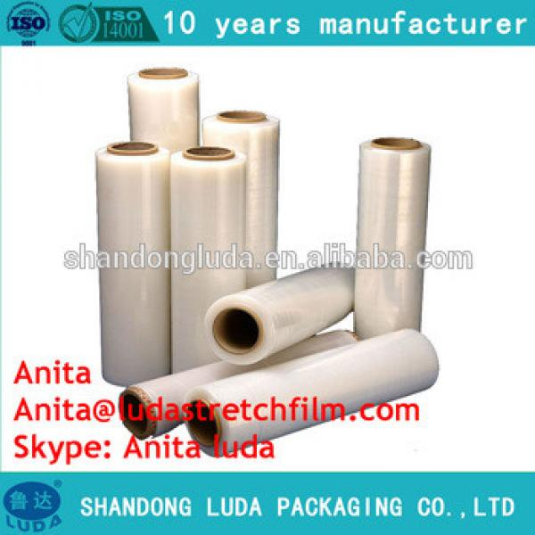 Stretch cling wrap LLDPE per clients demand /stretch film wrapping machine