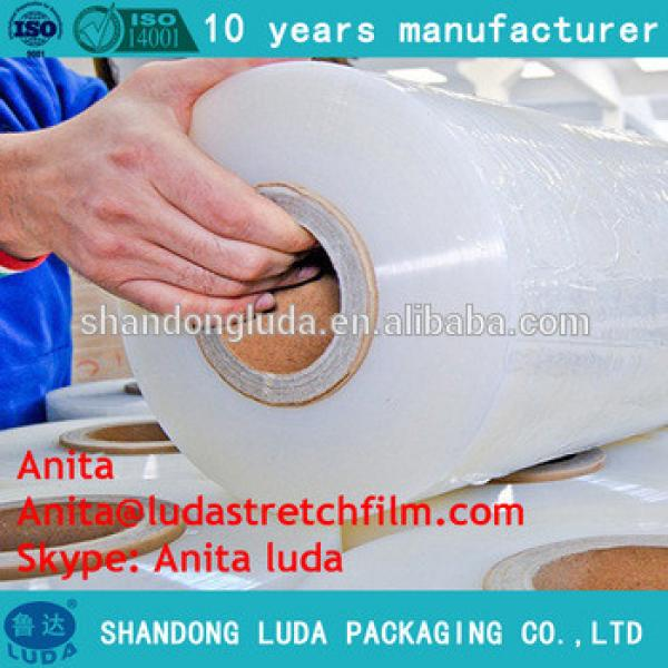 Hand pallet wrap/cling film hand wrapping machine