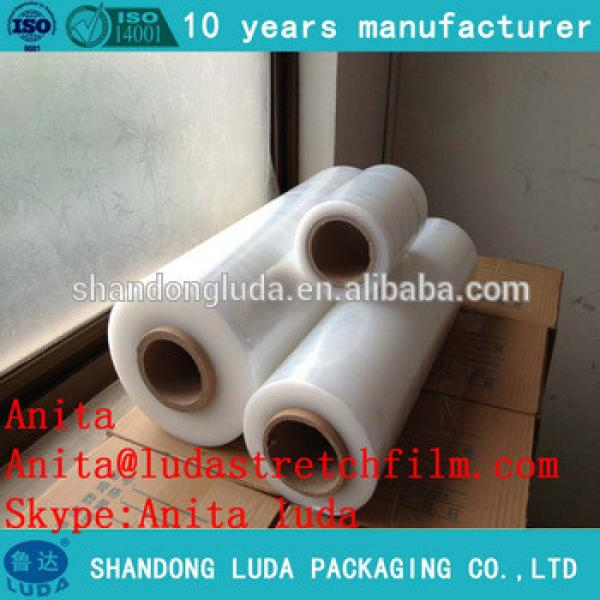 Transparent cheap PE Stretch Film with different specifications/pallet stretch film