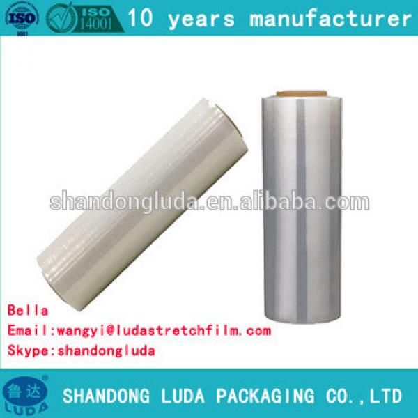 packaging film more size of transparent LLDPE material stretch film