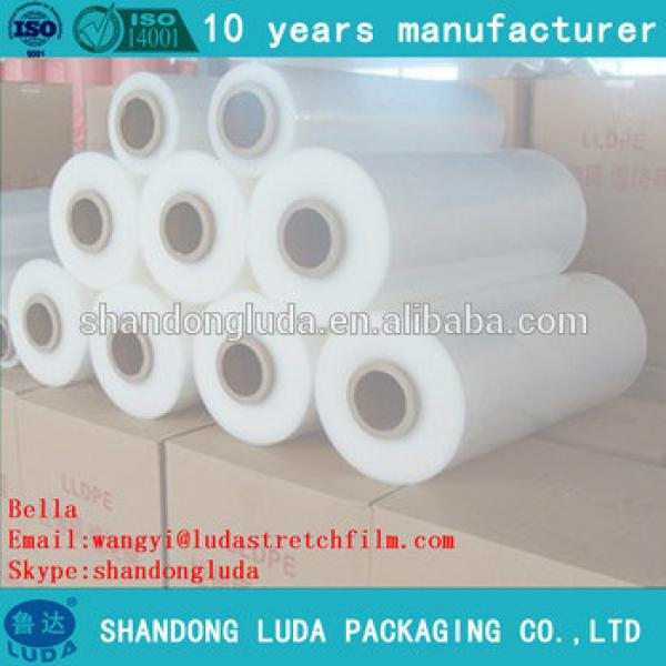 white mechanical packing stretch film