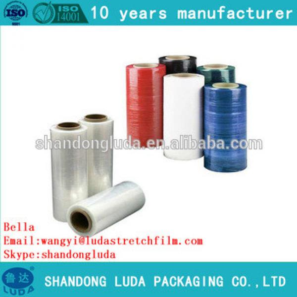 Luda color mechanical LLDPE stretch film