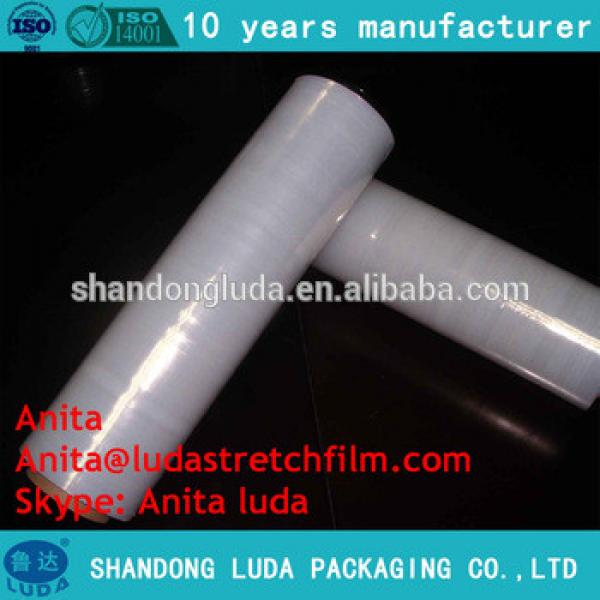 Transparent lldpe stretch shrink plastic wrapping film/pallet stretch film in selangor