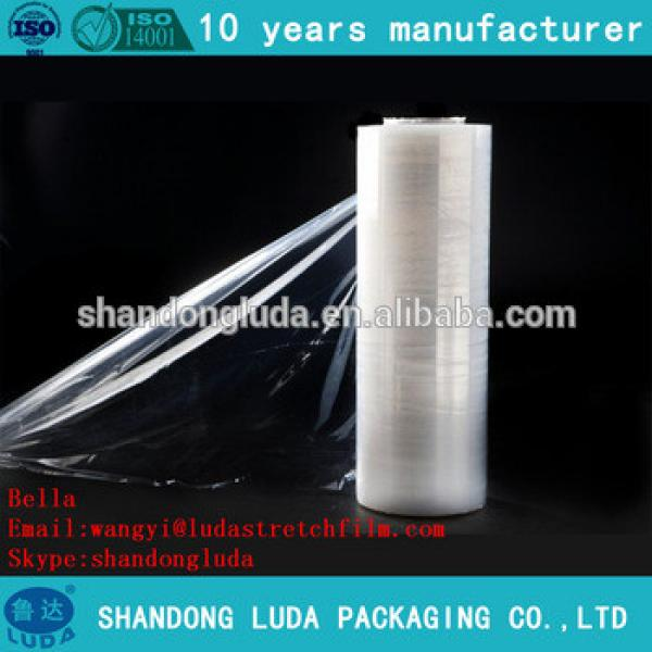 Supply of high-quality clear handmade stretch film LLDPE packaging film