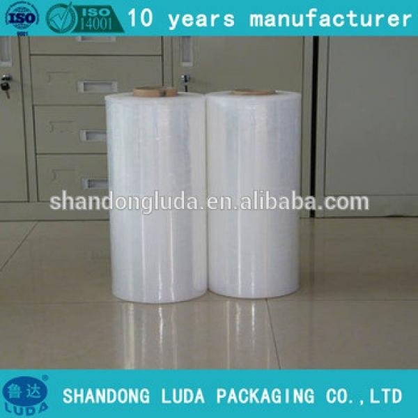 Luda supply of high-quality transparent hand and mechanical stretch film LLDPE film