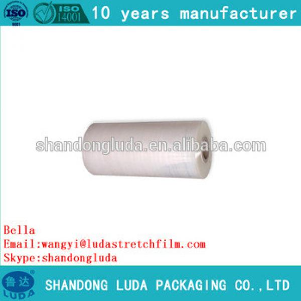 Luda supply of high-quality transparent stretch film LLDPE packaging film