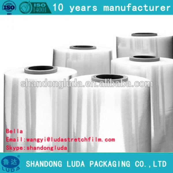 factory price good quality transparent mechanical soft LLDPE stretch wrapping film