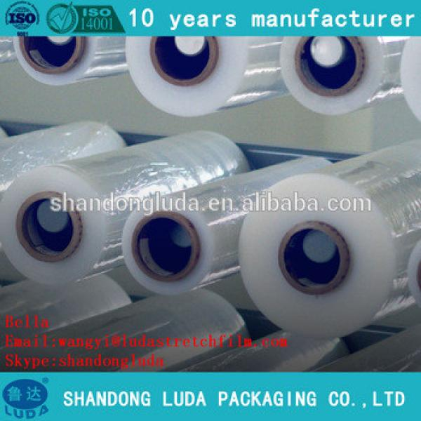 China 100% new material LLDPE plastic stretch wrapping Film