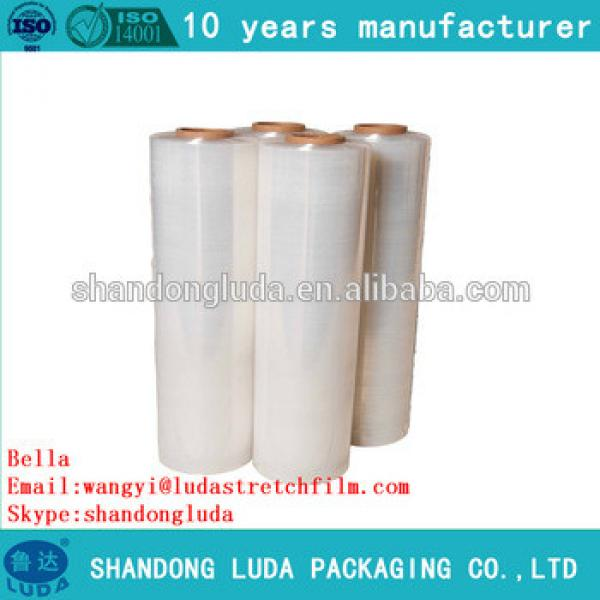 ShanDongLuda factory price wholesale handmade LLDPE stretch wrapping film