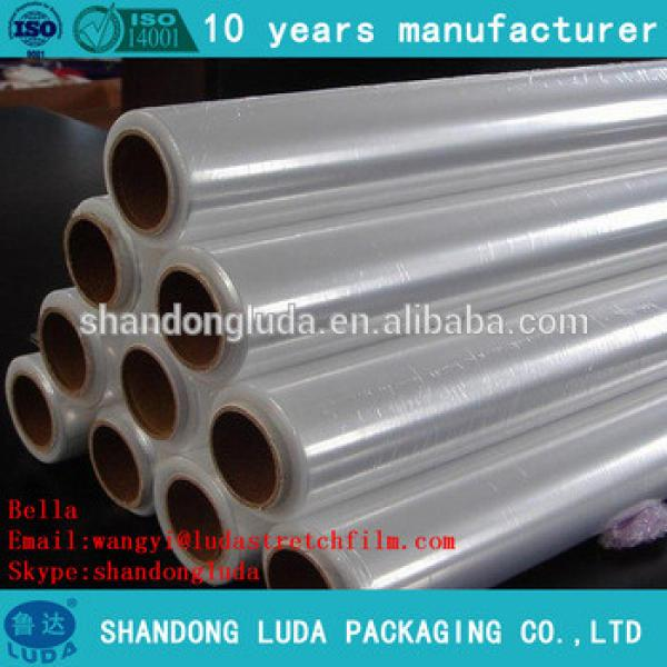 ShanDongLuda factory price wholesale clear mechanical LLDPE stretch wrapping film