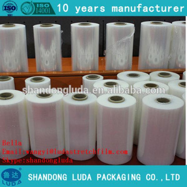 ShanDong Luda manufactures mechanica LLDPE hot forming stretch film roll