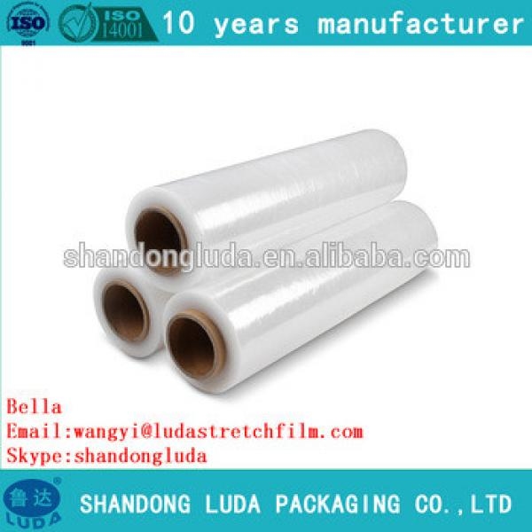 China Luda manufactures mechanica LLDPE hot forming stretch film roll